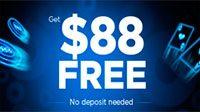 888 Poker $88 No Deposit Bonus