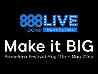 888 Poker Live Barcelona