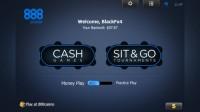 888 Poker Mobile - Lobby