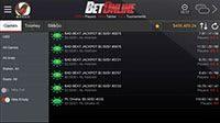 BetOnline Poker Mobile - Poker Lobby