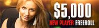 BetOnline Poker New Player Freeroll