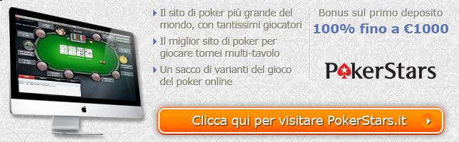 Offerta Bonus di PokerStars