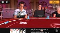 PKR Poker Mobile - Tischansicht, erste Person