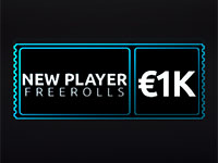 PKR Poker New Player Freerolls