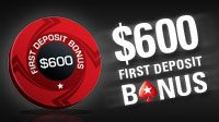 PokerStars First Deposit Bonus