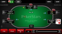PokerStars Mobile - Tisch